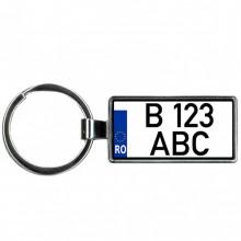 Personalizare Breloc Auto Fata+Spate Moto