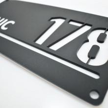 Placa personalizata cu numarul pentru casa 3D LUX maxi