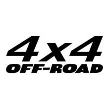 Stiker Abtibild autocolant *4x4* 03