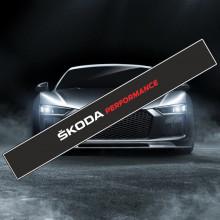 Parasolar auto *SKODA PERFORMANCE* + Kit instalare
