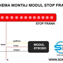 Modul CONTROLER FRANA URGENTA STROBOSCOP