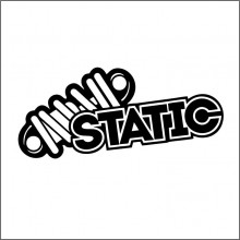 Sticker Abtibild autocolant STATIC 2