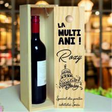 Cutie de Vin Aniversara La Multi Ani pentru Ocazi speciale
