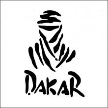Sticker Abtibild autocolant DAKAR