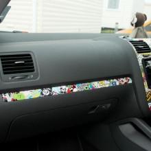 Autocolant Sticker Bomb pentru interiorul masini ( plansa Bord sau alte elemente ) 150x35 cm