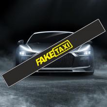 Parasolar auto *FAKE TAXI* + Kit instalare