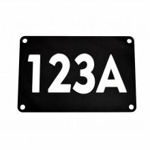Placa personalizata cu numarul pentru casa 3D LUX