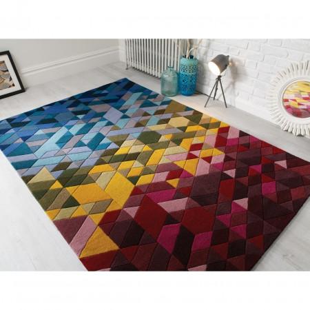 Covor Kingston Multi, Flair Rugs, 120 x 170 cm, 100% lana, multicolor