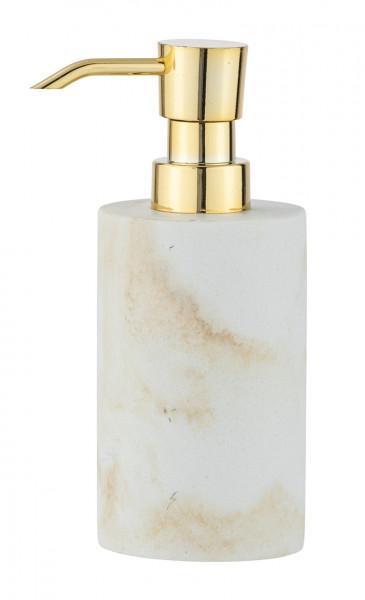 Dozator sapun lichid Odos, Wenko, 290 ml, polirasina, alb/bej
