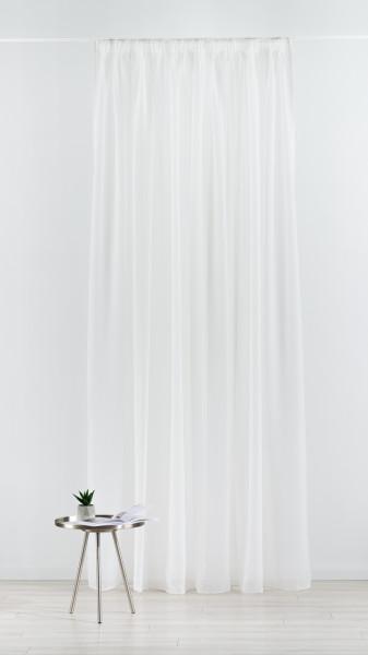 Perdea Imagine, Voal, 300x260 cm, poliester, crem