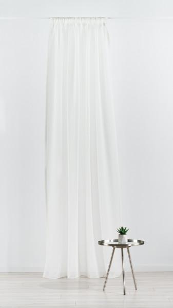 Perdea Mendola Interior, Batiste, 140x245 cm, poliester, crem