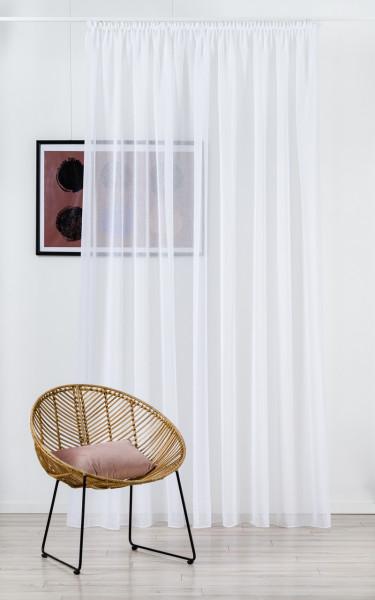 Perdea Mendola Interior, Shaby, 300x260 cm, poliester, alb