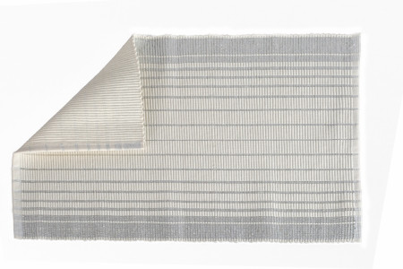 Suport pentru farfurie 30x48 cm, 100% bumbac jacquard, White