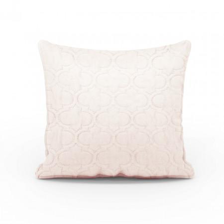 Fata de perna Maroko Bez, Fashion Goods, 45x45 cm, microfibra, crem