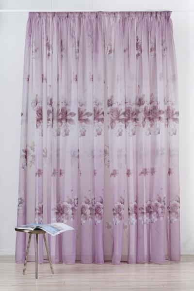Perdea Mendola Interior, Violetta, 600x245 cm, poliester, mov