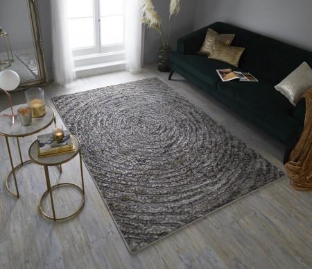 Covor ERIS URSA, 160x230 cm, 100% polipropilena, Auriu