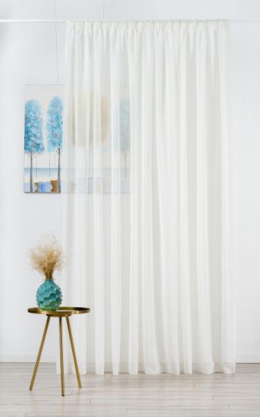 Perdea Mendola Interior, Sible, 400x245 cm, poliester, bej
