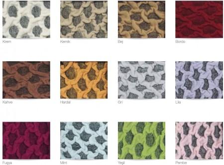 Set Huse Elastice Bicolore - Canapea 3 Persoane + 2 Fotolii - Bej Deschis si Gri - Vizon
