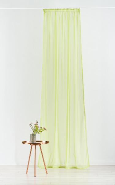 Perdea Imagine, Voal, 300x245 cm, poliester, verde
