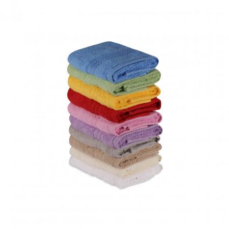 Set 10 prosoape de baie Simplicity, Hobby, 30 x 50 cm, 100% bumbac, multicolor