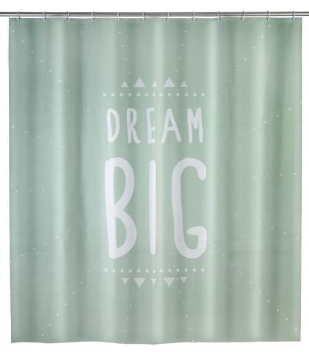 Perdea de dus Dream Big, Wenko, 180x200 cm, 100% poliester, multicolor