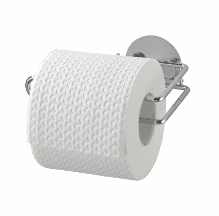 Suport hartie igienica Wenko, cu sistem de prindere Turbo-Loc®, fara gaurire si insurubare
