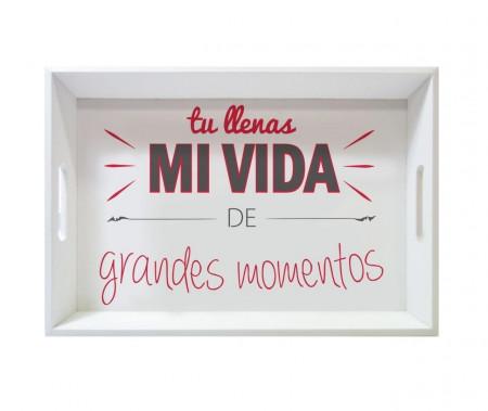 Tava Mi Vida, Jocca, 6 x 29 x 43 cm, lemn, multicolor