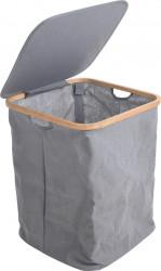 Cos de rufe, 40x40x52 cm, poliester, gri