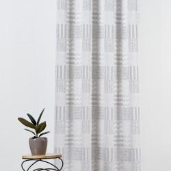 Draperie Mendola Interior, Roma, 140x245 cm, poliester, gri