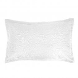 Fata de perna Bona Biala, Fashion Goods, 45x45 cm, microfibra, alb