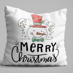 Perna decorativa, Christmas Decoration KRLNTXMAS-10, 43x43 cm, policoton, multicolor
