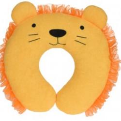 Perna pentru gat Lion, 24x26 cm, microfibra