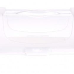 Recipient pentru depozitare prajituri, 34x14.3x15 cm, polipropilena, alb