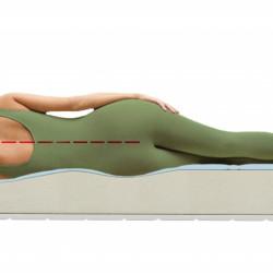 Saltea Green Future, Lavanda Therapy 14+2, Memory Arctic Gel, Super Ortopedica, Anatomica,180x200 cm