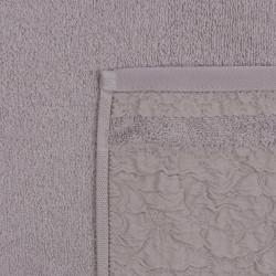 Set 2 prosoape de maini 50x90 cm, 100% bumbac, Soft Kiss, Lucca, maro