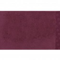 Set 2 prosoape de maini 50x90 cm, 100% bumbac, Soft Kiss, Yonca Claret, rosu