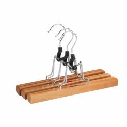 Set 3 umerase Wenko Premium, 16.5 x 25 cm, lemn/metal, natur
