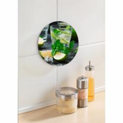 Suport din sticlă pentru recipiente fierbinți, Wenko Mojito , Ø 20 cm