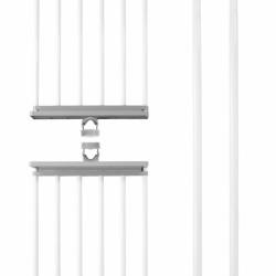 Suport universal Herkules Twin, Wenko, 73 x 165 cm, inox/ABS/polipropilena, argintiu