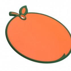 Tocator Orange, 28x30x8 cm, polipropilena, portocaliu