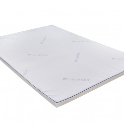 Topper saltea Green Future, Lavanda Therapy Memory 7 zone de confort 160x200 cm, 5 cm