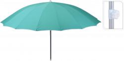 Umbrela Shanghai, Ø240x225 cm, poliester, verde menta