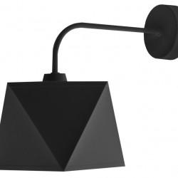 Aplica de perete Adamant, Helam, 35 x 20 cm, 1 x E27, 60W, negru