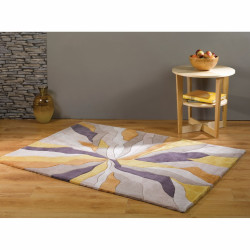 Covor Infinite Splinter Ochre, Flair Rugs, 80X150 cm, 100% poliester, bej