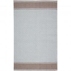 Covor rezistent Eko, 9027 - Blue, Grey, 100% bumbac, 80 x 150 cm
