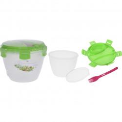Cutie pentru pranz Lunch, 2L, alb/verde