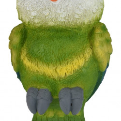 Lampa solara de gradina Parrot, H19 cm, verde