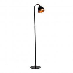 Lampadar Yıldo NT - 146, Opviq, 40 x 28 x 116 cm, 1 x E27, 100W, negru/cupru