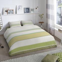 Lenjerie de pat pentru doua persoane, Good Morning, Arie, 100% bumbac, 3 piese, multicolor
