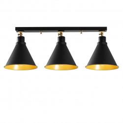 Lustra Berceste N-677, Noor, 26 x 72 cm, 3 x E27, 100W, negru